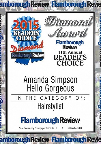 2015 readers choice awards hair stylist amanda