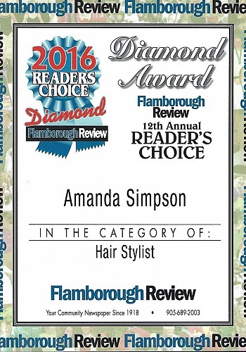 2016 readers choice awards hair stylist