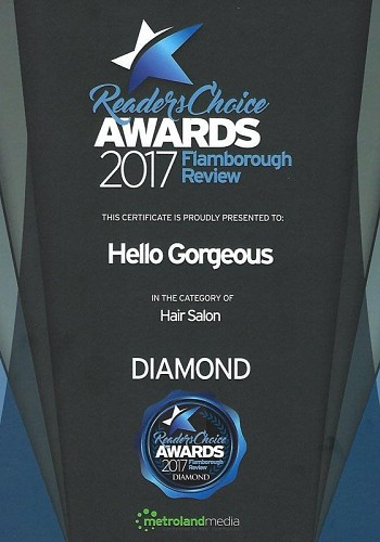 2017 readers choice awards hair salon